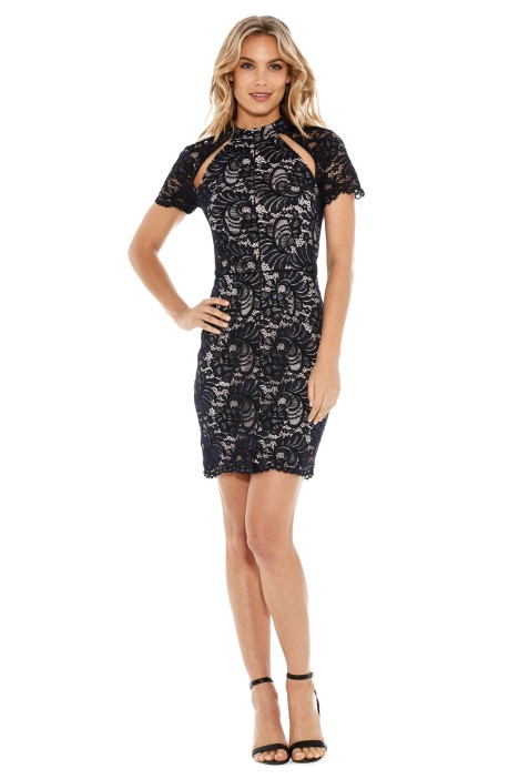 Rodeo Show - Amity Dress - Navy - Front