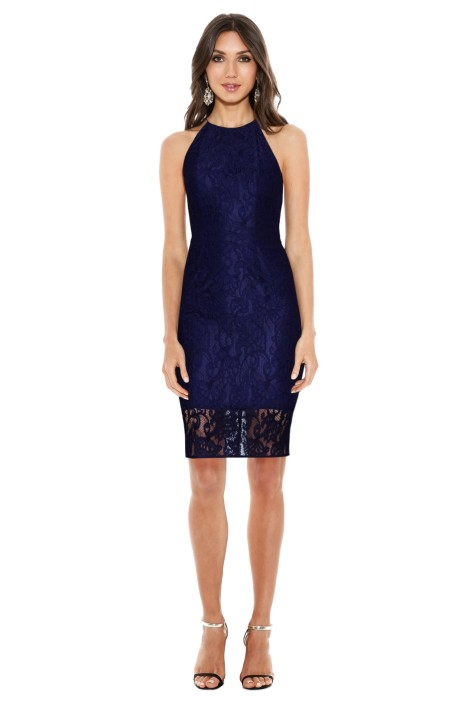 Rodeo Show - Kirrliy Lace Dress - Purple - Front