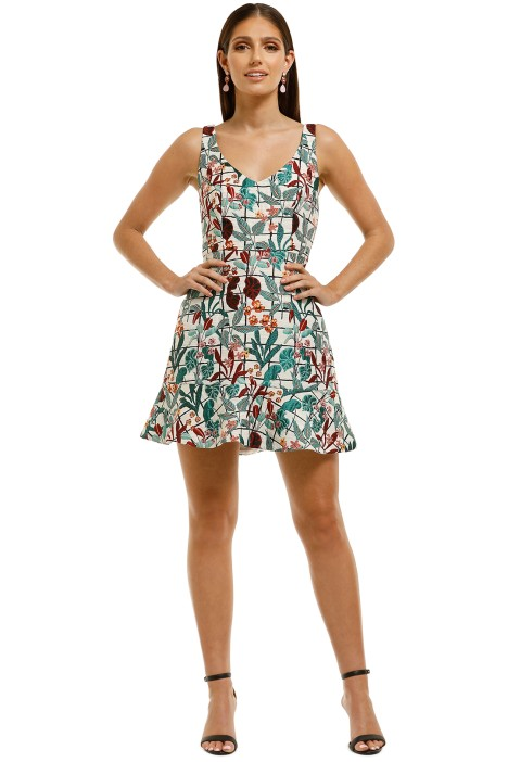 Rodeo Show - Kit Mini Dress - Print - Front