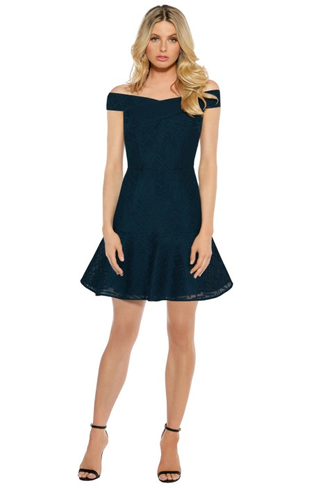 Rodeo Show - Petrol Axel Dress - Front