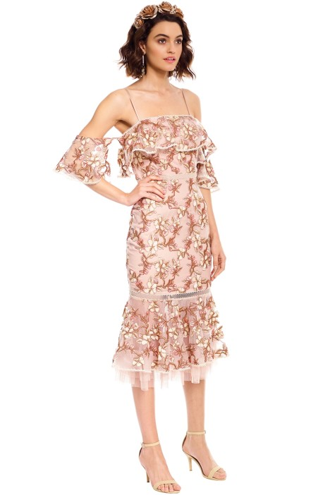 1246e5b5863a5 Rowena Lace Dress by Rodeo Show for Hire | GlamCorner