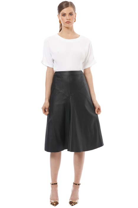 Saba - Ashley Midi Skirt - Black - Front