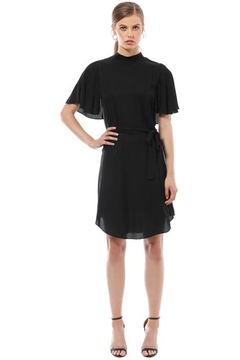 Saba - Meadows Dress - Black - Front