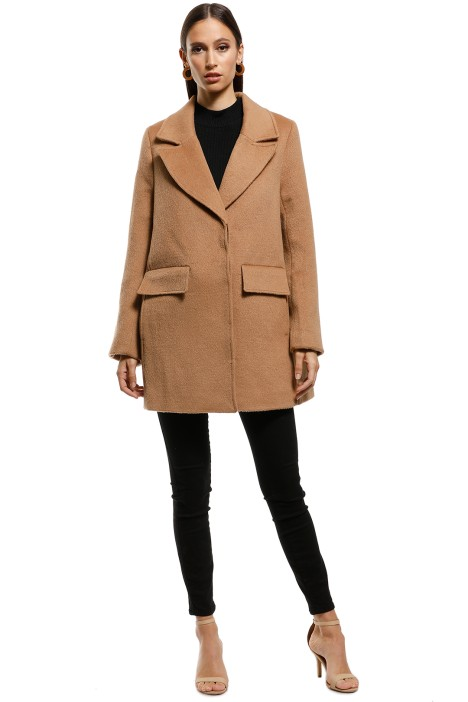 Saints The Label - Hampshire Coat - Camel - Front
