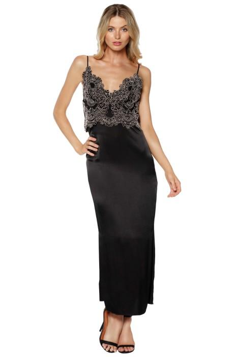 Sandro - Demi Dress - Black - Front