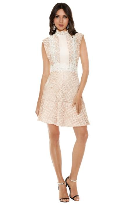 Sandro - Peaches Lace Dress - Cream - Front