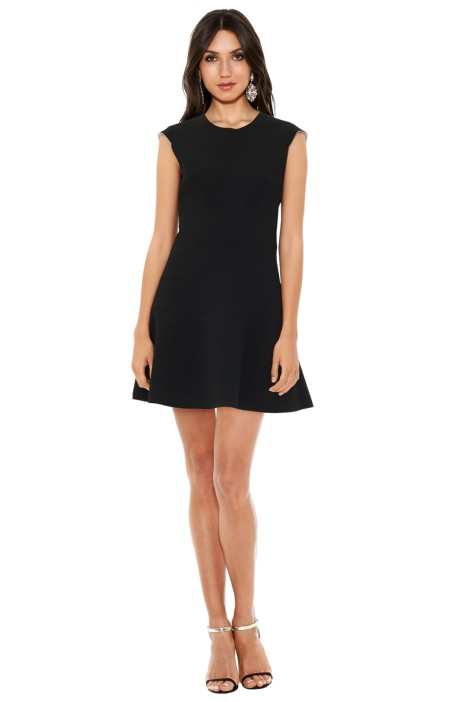Sandro - Remind Dress Black - Front