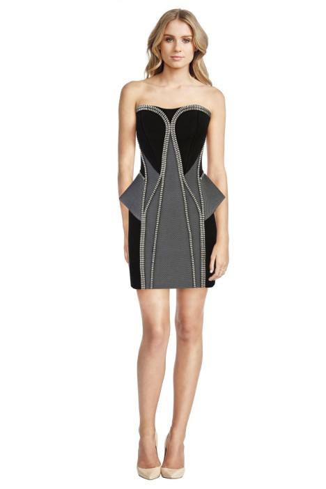 Sass Bide - Black The Scheming Socialite - Black - Front