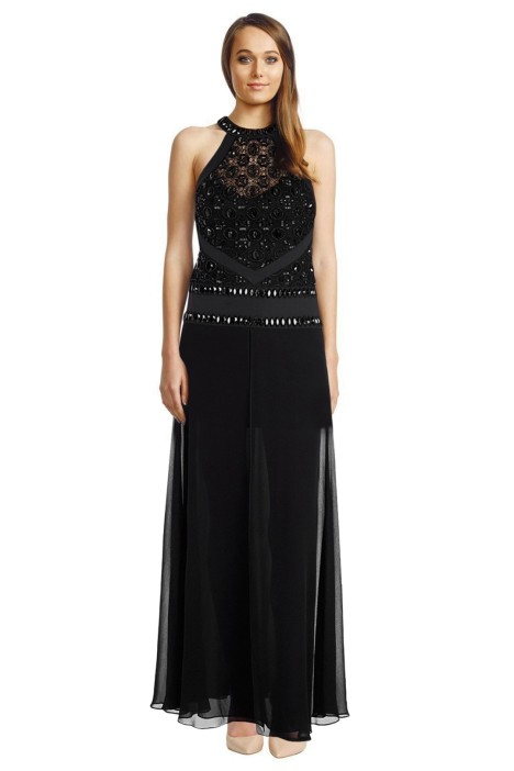 Sass Bide - Lest We Regret Dress - Black - Front
