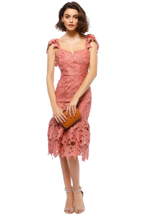Saylor - Donna Dress - Terracotta - Front