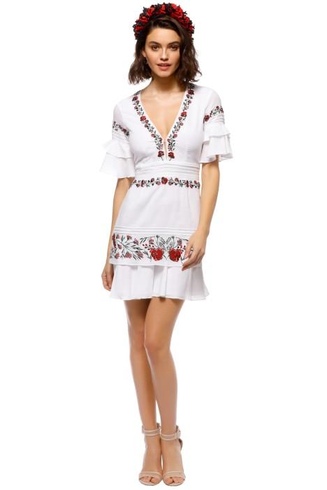 Saylor - Jayne Mini Dress - Front