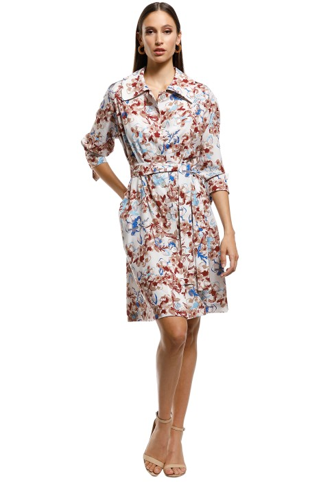 Scanlan Theodore - Belita Trench Dress - Multi - Front