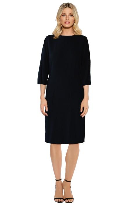 Scanlan Theodore - Viscose Patch Pocket Dress - Front