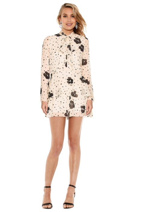 See by Chloé - Leopard Print On Silk Dress - Front