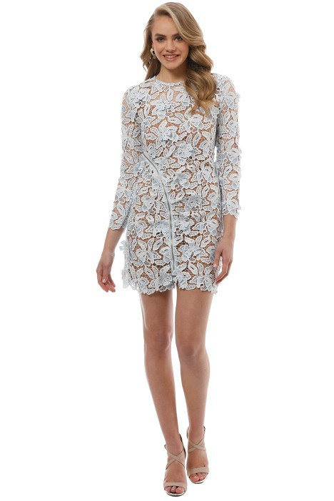 Self Portrait - 3D Lily Mini Dress - Front
