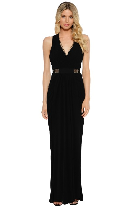 Sheike - Aphrodite Gown - Black - Front