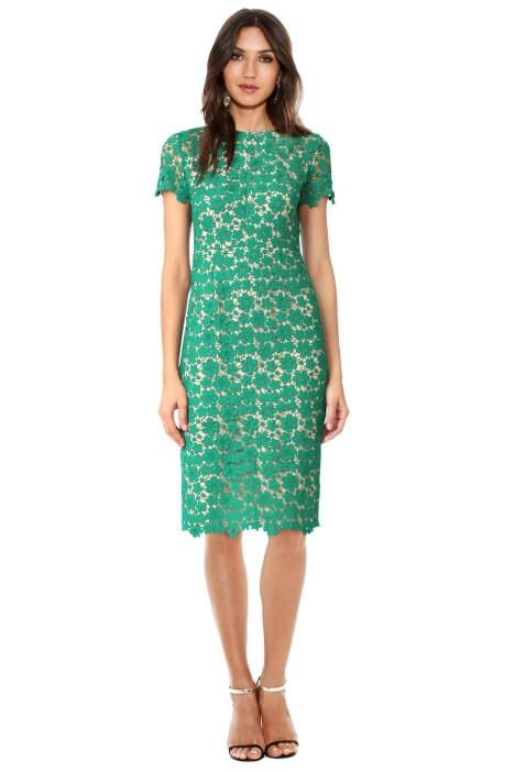 Shoshanna - Beaux Dress - Jade - Front