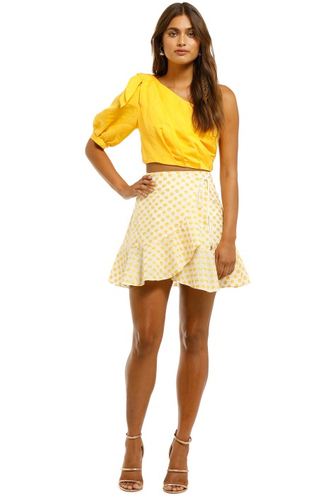 Significant-Other-Allure-Skirt-Sunflower-Front