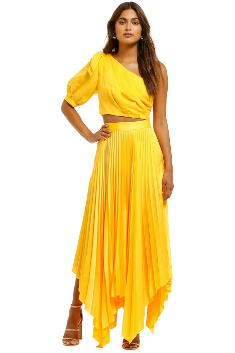 Significant-Other-Eden-Skirt-Marigold-Front