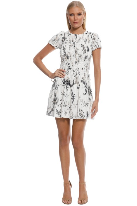 d113ea5d35ee1 Mariele Ruched Tee Mini Dress by SIR the Label for Hire | GlamCorner