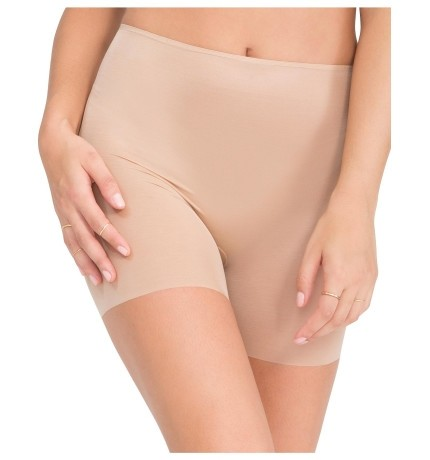 Spanx - Skinny Britches Nude Girl Short - Nude - Front