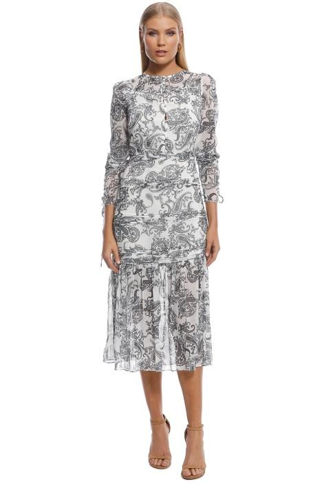 Stevie May - Cinema Midi Dress - Print - Front