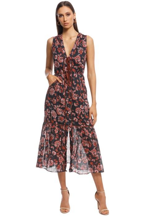 Stevie May - Dakota Midi Dress - Print - Front