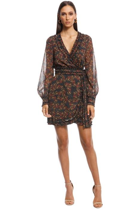 Stevie May - Monarch Mini Dress - Print - Front