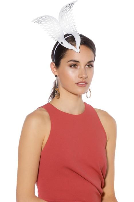 Studio Aniss - Hera Crown - White - Side - Model