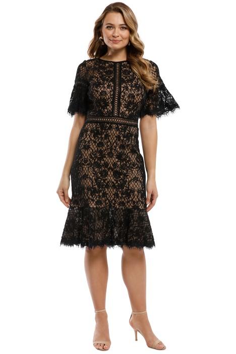 fcc2550fbd4ed Mirabelle Embroidered Dress by Tadashi Shoji for Hire | GlamCorner