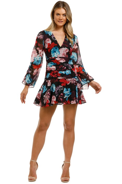Talulah-Cascada-Mini-Dress-Lidua-Floral-Front