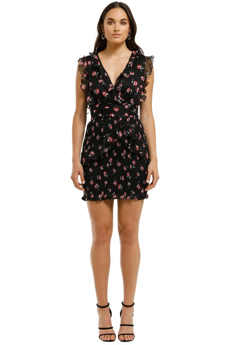 Talulah-Incognito-Mini-Dress-Alma-Floral-Nacy-Base-Front