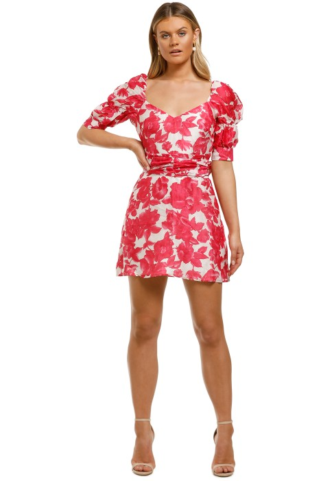 Talulah-Martini-Mini-Dress-Raspberry-Martini-Floral-Front