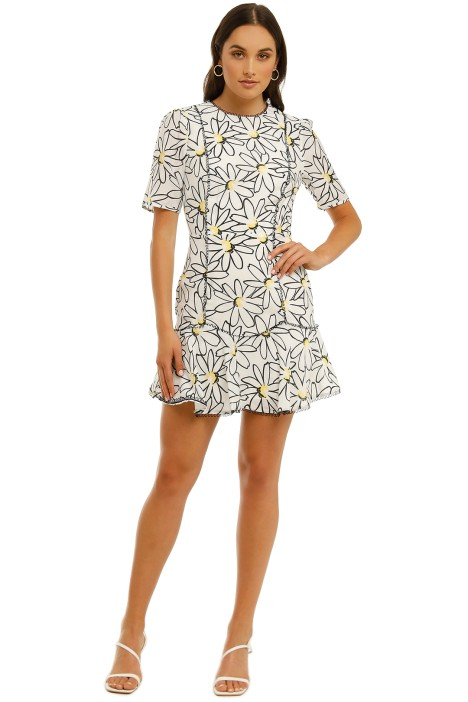 Talulah-Splice-Mini-Dress-Aster-Floral-Print-Front