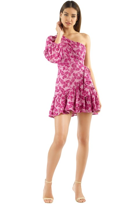 Talulah - Aurora Mini Dress - Antique Rose - Front
