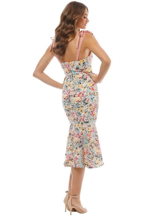 a788e22209a7 Talulah - Bittersweet Flounce Midi Dress - Multi - Back