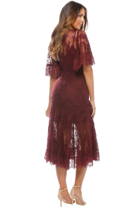 Blind Love Midi Dress In Henna By Talulah For Hire