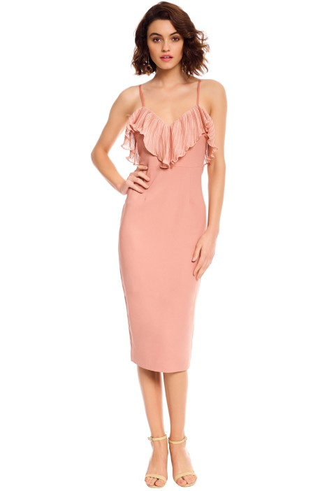 Talulah - Charm Bodycon Dress - Misty Rose - Front