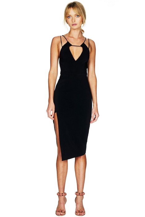 Talulah - Cheyney Belle Midi Dress - Black - Front
