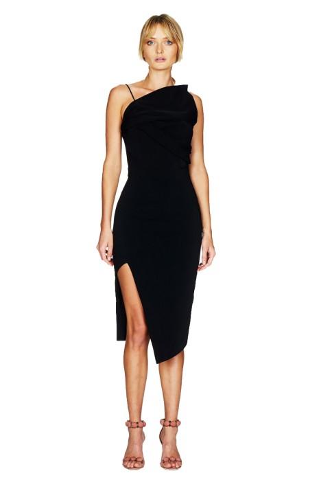 Talulah - Elodie Midi Dress - Black - Front