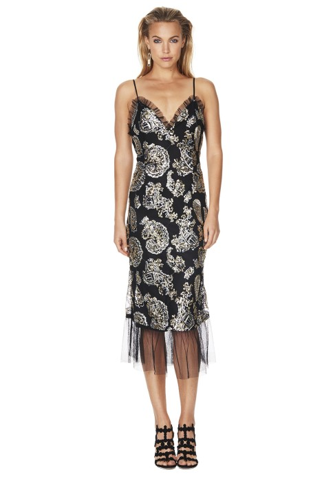 Talulah - In The City Midi Dress - Front