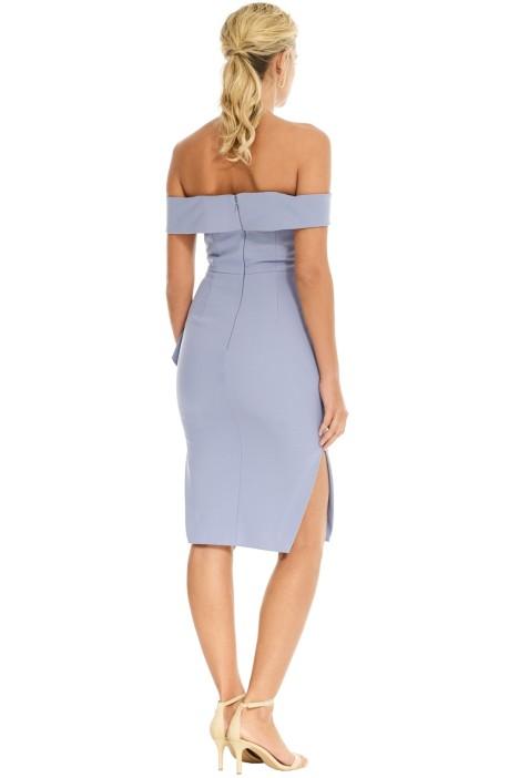 174307bb77a29 Talulah - Indira Bodycon Dress - Blue - Back
