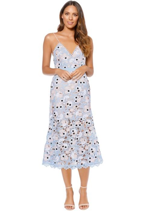 Talulah - Infatuation Midi Dress - Pastel Blue - Front