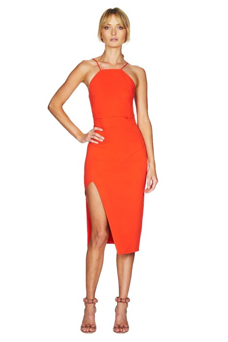 Talulah - Loosing My Mind Midi Dress - Front