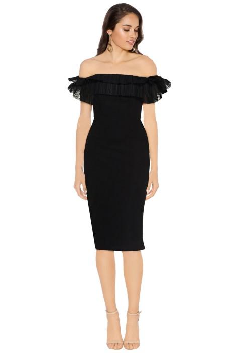 Monet Off Shoulder Dress by Talulah for Hire | GlamCorner