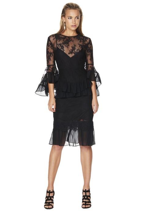 Talulah - My Way Dress - Black - Front