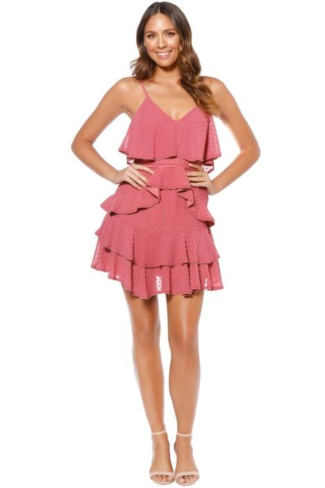 Talulah - Soft Posey Mini Dress - Front