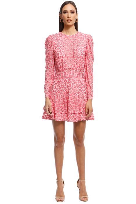 Talulah - The Blossom LS Mini Dress - Pink - Front