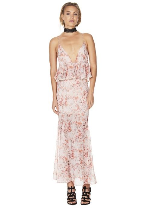 Talulah - The Faithful Maxi Dress - Pink Floral - Front