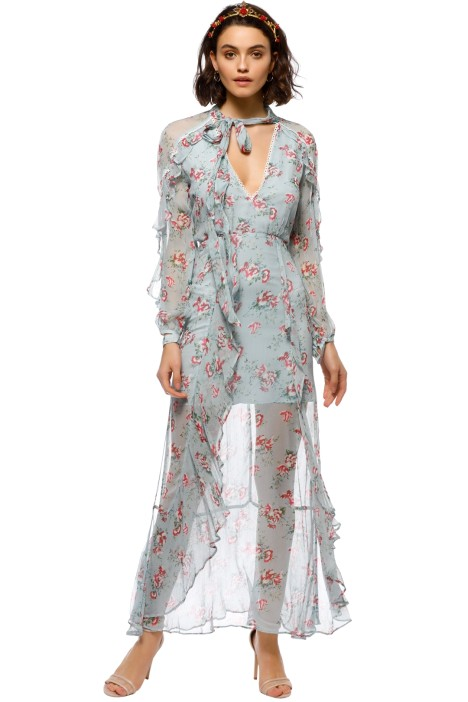 Talulah - The Knowing Midi Dress - Front
